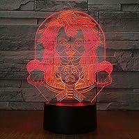 3次元ngetlin誕生日プレゼント用ランプngetlinアクリルのクリエイティブな人格、多彩な:タッチ