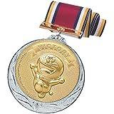 ドラえもん メダル 銀 ビクトリー 直径70mm 日本製 DRZ-2005S