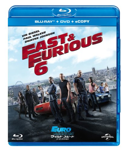 ワイルド・スピード EURO MISSION ブルーレイ+DVDセット(E-Copy) [Blu-ray]の詳細を見る