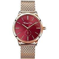 THOMAS SABO Women's TWA0276 Year-Round Analog Quartz Rose Gold Watch