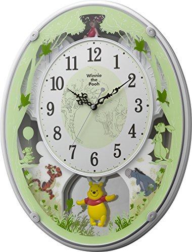 リズム時計 Disney くまのプーさん...