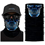Multifunctional Headwear Bandana - Skull Scanner