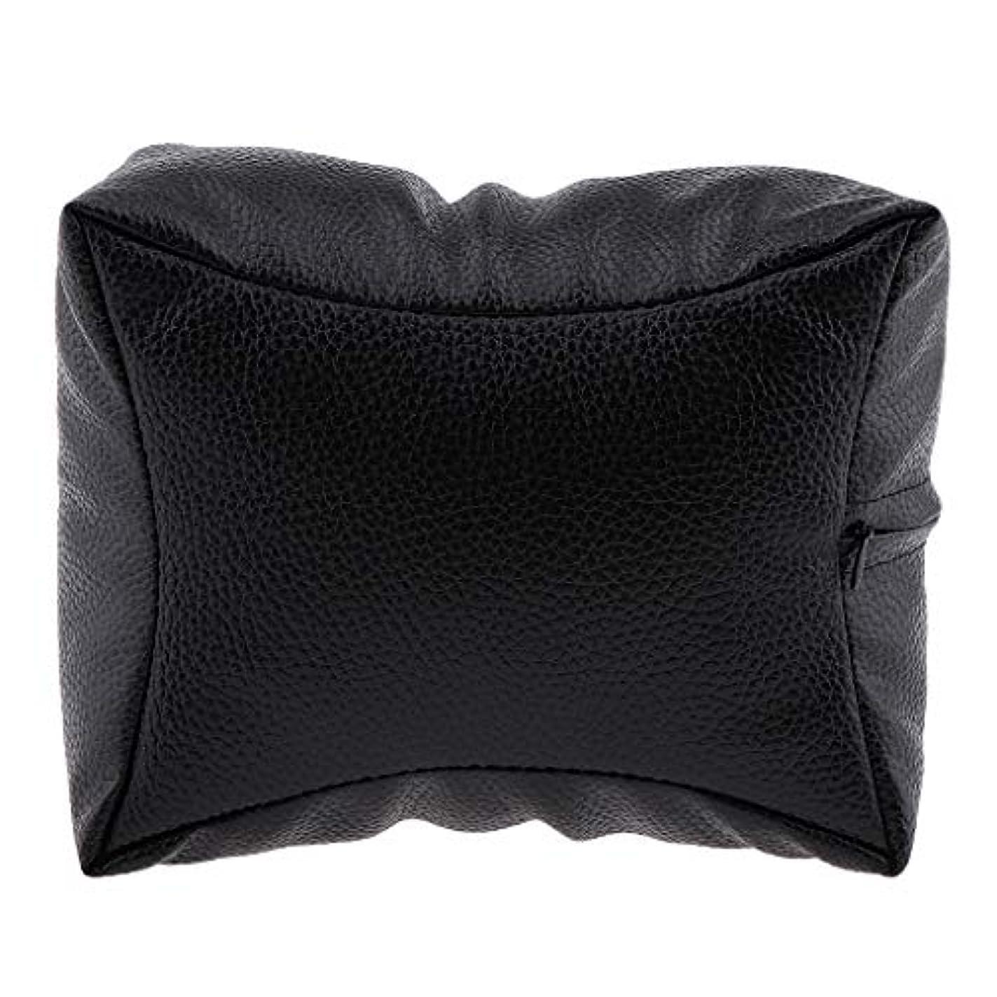 DYNWAVE 手枕 ハンドピロー ハンドクッション ネイルアート 個人 家庭 ネイルサロン 4色選べ - ブラック