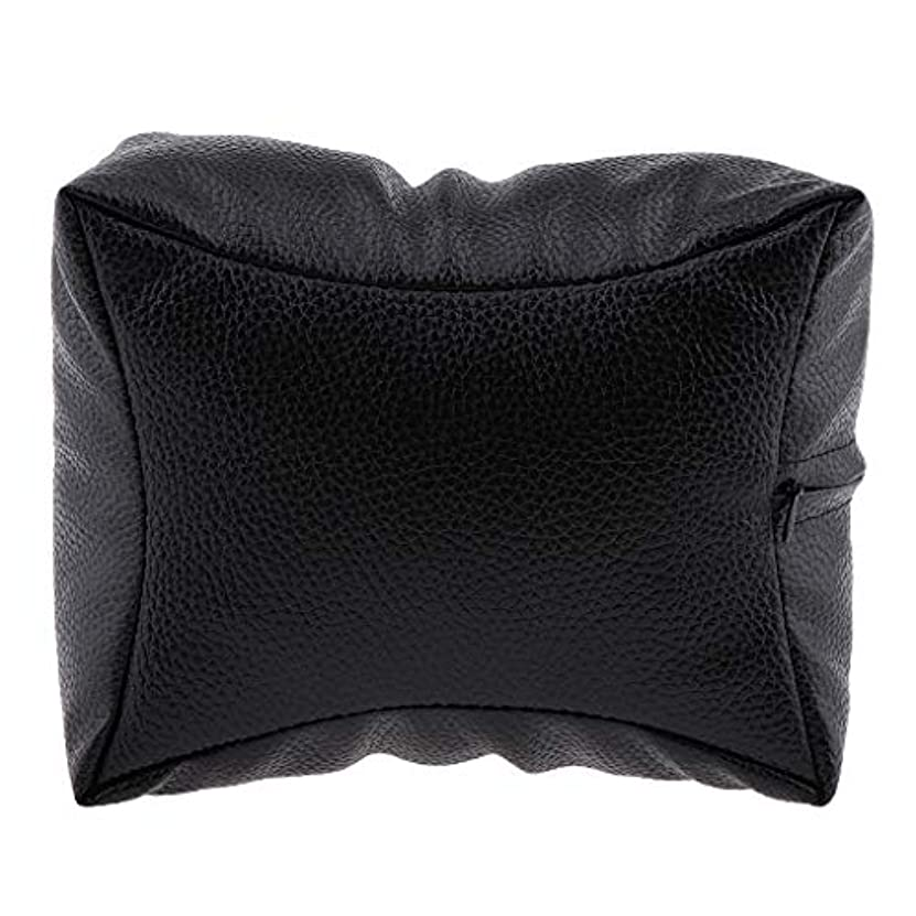 環境保護主義者拮抗する翻訳するネイルハンドピロー プロ ネイルサロン 手枕 レストピロー ネイルケア 4色選べ - ブラック