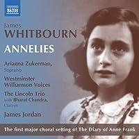 ジェイムズ・ウィトボーン: アンネリース(室内楽編) ~「アンネの日記」より