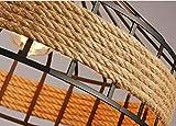 シャンデリア麻ratシャンデリアランプアメリカの国レトロクリエイティブリビングルームダイニング廊下廊下装飾 画像