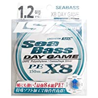 LINE SYSTEM(ラインシステム) ライン SEA BASS X8 DAY GAME 1.2号 150m L6212A