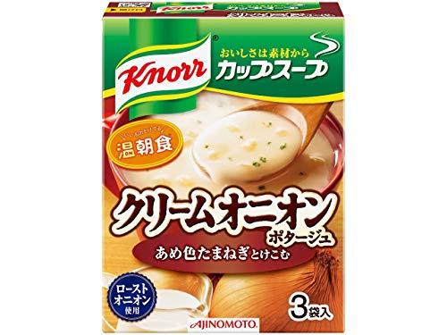 クノール カップスープ クリームオニオンポタージュ 3袋入×10個