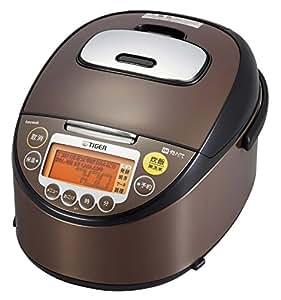 タイガー IH 炊飯器 5.5合 ブラウンステンレス tacook 炊きたて 炊飯 ジャー JKT-V101-XT Tiger