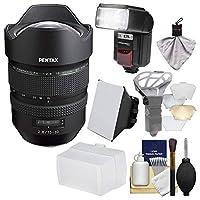 Pentax HD FA 15–30mm f / 2.8Ed Sdm WRズームレンズとFlash +ソフトボックス+ディフューザー+キット