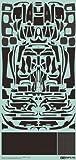 Tamiya Detail UpパーツシリーズNo。561/ 24LA FERRARIカーボンスライドマークセット12656