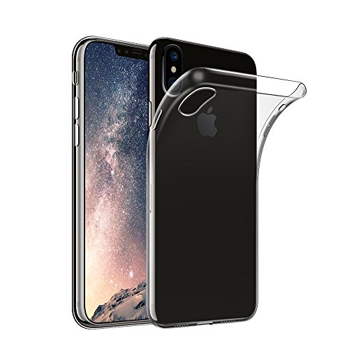 Qosea iPhone 8 ケース カバー 透明 超薄型 高品質TPUシリ...