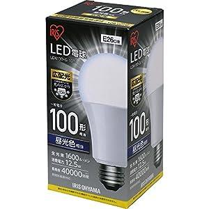 アイリスオーヤマ LED電球 E26 広配光 100形相当 昼光色 LDA13D-G-10T4