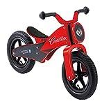 CADILLAC(キャデラック) WOODY RIDER レッド バランスバイク 適応年齢3歳-5歳 自転車用タイヤ装着 15306-0299