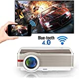 LED Wireless Bluetooth Home Theatre Projector 5000 Lumens LCD Smart HD Multimedia Android Wireless Wifi Bluetooth Projector S