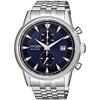 Citizen Men's Solar Powered Wrist watch, stainless steel Bracelet analog Display and Stainless Steel Strap, CA7001-87L