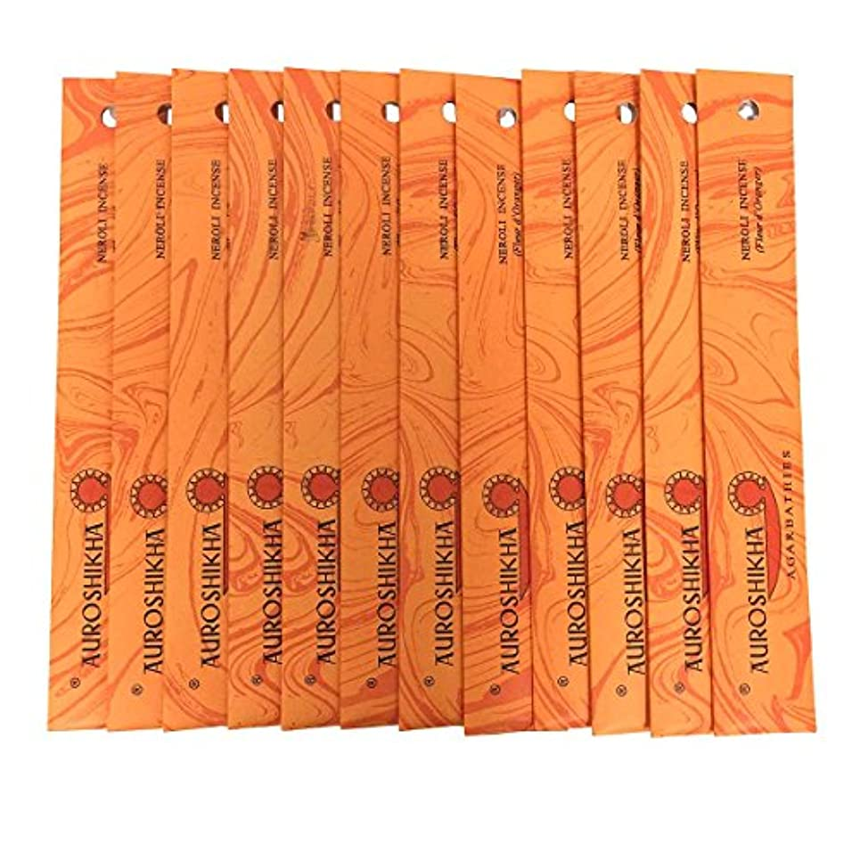虐待フレット入学するAUROSHIKHA オウロシカ(NEROLIネロリ12個セット) マーブルパッケージスティック 送料無料
