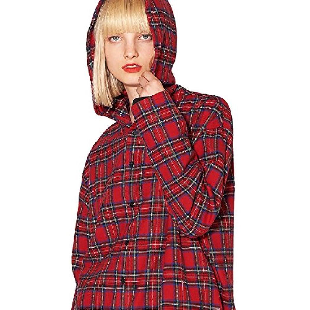 鏡変位リラックスしたankoROCK アンコロック シャツ カラーシャツ メンズ レディース 原宿系 秋 冬 チェック