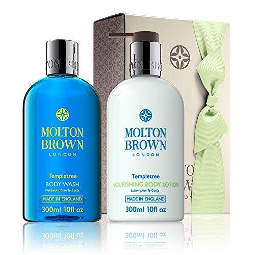 モルトンブラウンTempletreeシャワージェル&ローションギフトセット - Molton Brown Templetree Shower Gel & Lotion Gift Set [並行輸入品]