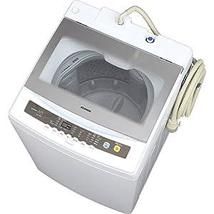 アイリスオーヤマ 8.0Kg 簡易乾燥付 全自動洗濯機 IAW-T801