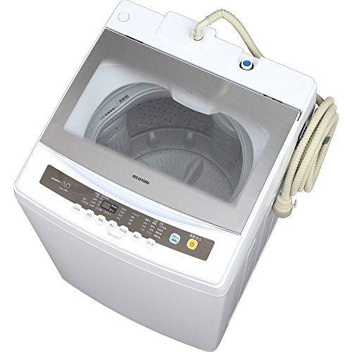 アイリスオーヤマ 8.0Kg 簡易乾燥付 全自動洗濯機 IA...