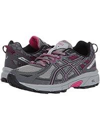 [asics(アシックス)] レディースランニングシューズ?スニーカー?靴 GEL-Venture 6 Carbon/Black/Pink Peacock 8.5 (25.25cm) B - Medium