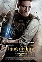 King Arthur : Legend of the Sword映画ポスター27x 40、チャーリー・ハナム、ジュード・ロウ、f、Made in the U。S。A。