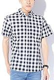 ブラックブロックチェック M JACK PORT(ジャックポート) チェック ブロードシャツ メンズ 半袖 シャツ ブランド チェックシャツ チェック柄シャツ カジュアルシャツ オックスフォードシャツ ウエスタンシャツ ネルシャツ 半そで スリム S M L XL LL JKP20779005001
