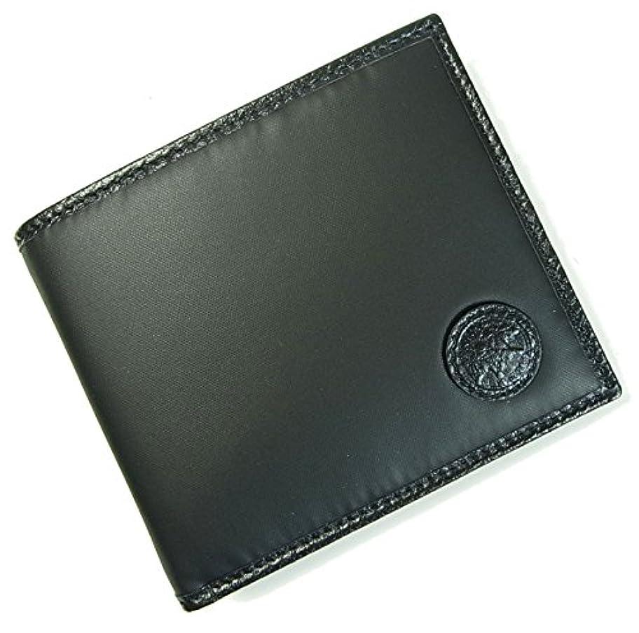 報いる囲いダウンタウン(ハンティングワールド) 財布 メンズ BATTUE ORIGIN 二つ折 (ブラック) HW-11F [並行輸入品]