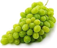 Amae USA Premium Green Crispy Sweet Grapes, 500g, 500 g - Chilled