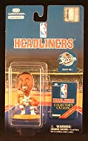 GRANT HILL / DETROIT PISTONS * 3 INCH * NBA Headliners Basketball Collector Figure