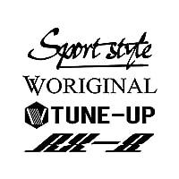 Sport style mix RX-8 カッティング ステッカー ブラック 黒