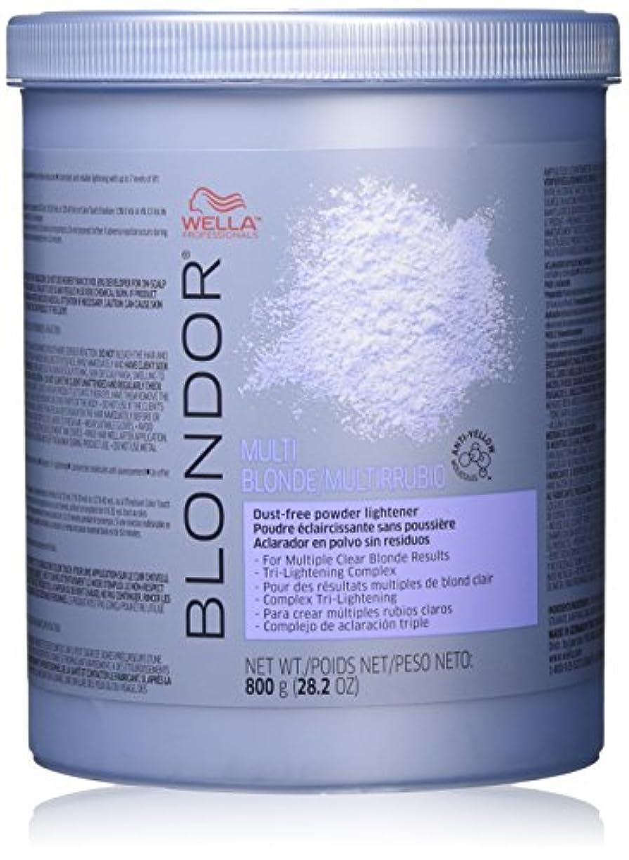 困惑せっかち忌避剤Wella blondorマルチブロンドパウダーライトナー、28.2オンス