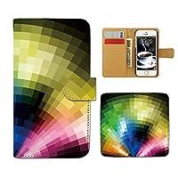 (ティアラ) Tiara URBANO V01 KYV31 スマホケース 手帳型 stylish 手帳ケース カバー アブストラクト アート クール F0078040072401