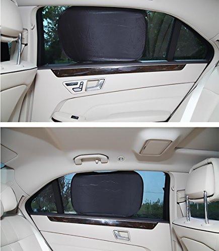 6枚セット 日除け 遮光サンシェード車用 サイドシェード 車内温度下げ カー 窓 折り畳み 日焼け防止 軽量 遮光 サンシェード メッシュ