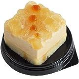 [コミフ 飼い主も一緒に食べられるスイーツ] やさしいスイーツ りんごとムース ペットケーキ