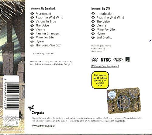 Monument the Soundtrack (Bonus Dvd)