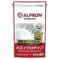 アルプロン ホエイプロテイン100 無添加 プレーン 250g【約12食】