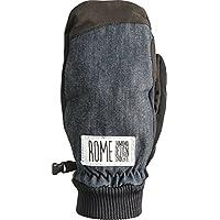 16 ROME AUTHENTIC MITTEN/BLACK スキースノーボードブランド ロームのメンズミトングローブ