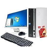 Office2016 + セキュリティ2015 FMV D5280 Core2Duo 2.8GHz RAM:4GB HDD:250GB DVD Windows7 Pro 64bit (22インチ液晶セット Wifi付き)