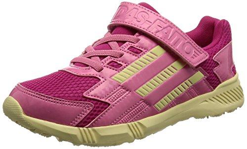 [アディダス]運動靴 KIDS アディダスファイト EL K イージーピンク S17/イージーイエロ...