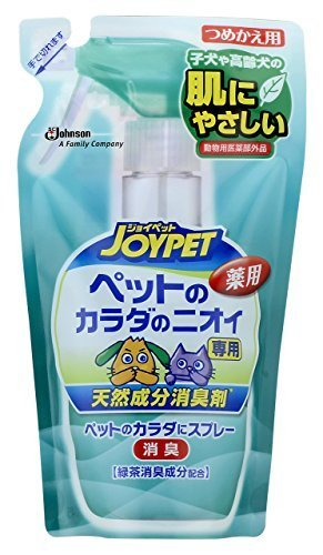 ジョイペット 天然成分消臭剤 カラダのニオイ専用 詰替 240mL  ジョイペット JOYPET
