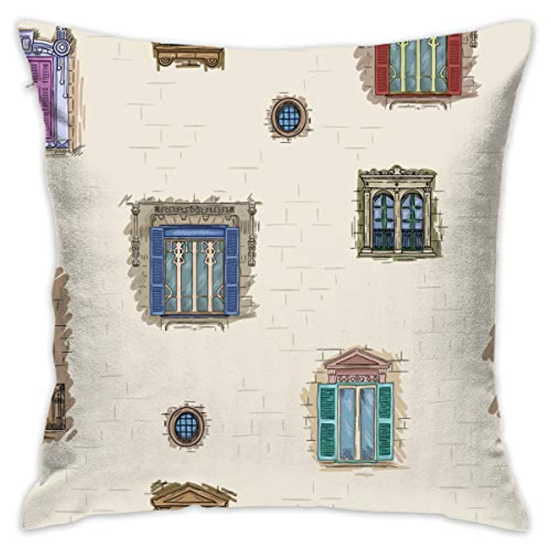 壁 窓 式 おもしろい 枕カバー クッション 抱き枕 部屋 ソファ 車 装飾 柔軟 創意 デザイン 新型 人気 おしゃれ 枕