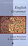 English Grammar: A Generative Perspective (Blackwell Textbooks in Linguistics)