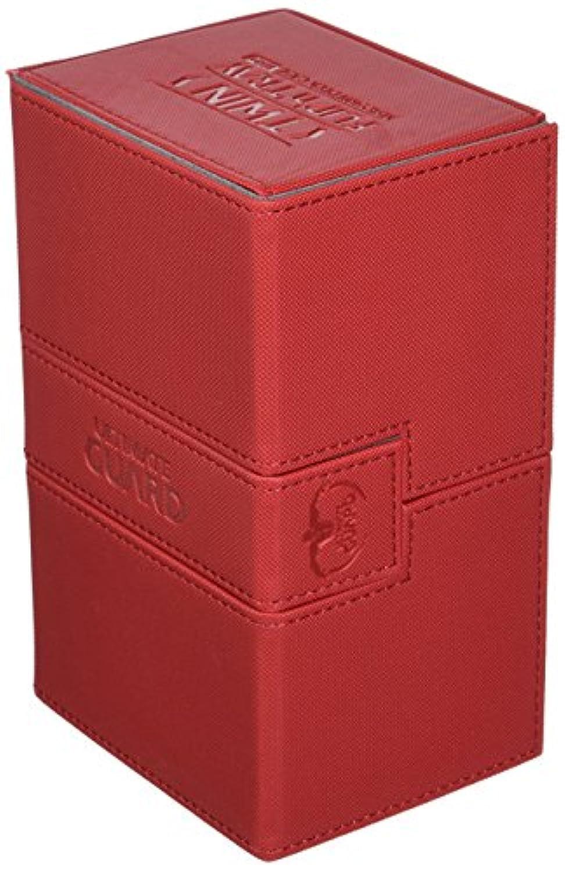 デッキボックス:ツインFlip NトレイXeno 160 +カードゲーム、レッド