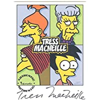 Simpsons Mania Autograph Card A6 Tress MacNeille