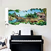 Dragon Honor ウォールステッカー 恐竜 面白い 子供人気 子供部屋 幼稚園 保育園 おしゃれ インテリア雑貨 飾り 壁紙シール タイルシール 壁の装飾 はがせる 環境保護