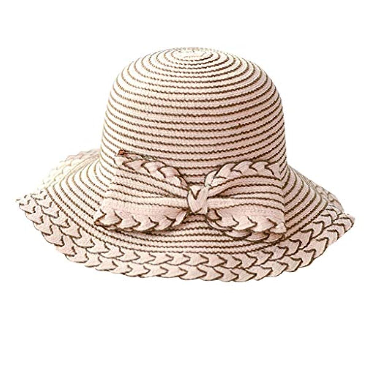 窓前奏曲バラ色夏 帽子 レディース UVカット 帽子 ハット レディース 日よけ 夏季 女優帽 日よけ 日焼け 折りたたみ 持ち運び つば広 吸汗通気 ハット レディース 紫外線対策 小顔効果 ワイヤー入る ハット ROSE ROMAN