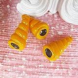 アクセサリー パーツ 部品 材料 手芸 DIY 手作り 販売用 プロ用 チョココルネアクリルパーツ 樹脂 バラ売り プレゼント パーティー