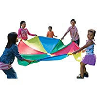 [パシフィックプレイテント]Pacific Play Tents Kids 20 Foot Parachute with Handles and Carry Bag for Groups and [並行輸入品]